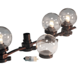 NSL Outdoor Globe String Lights