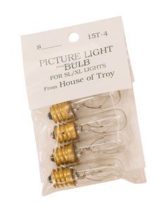 Incandescent Candelabra Bulb 15T4-BAG