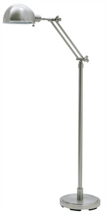Addison Adjustable Pharmacy Floor Lamp AD400-SN