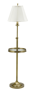 Club Adjustable Floor Lamp with Table CL202-AB