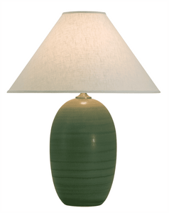 Scatchard Stoneware Table Lamp GS150-GM