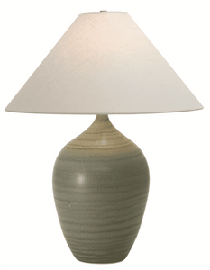 Scatchard Stoneware Table Lamp GS190-GM