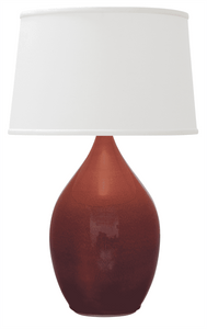 Scatchard Stoneware Table Lamp GS202-CR