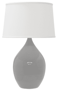 Scatchard Stoneware Table Lamp GS202-GG