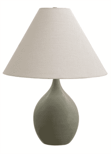 Scatchard Stoneware Table Lamp GS300-CG