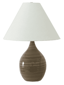 Scatchard Stoneware Table Lamp GS300-TE