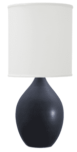 Scatchard Stoneware Table Lamp GS301-BM