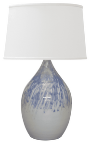 Scatchard Stoneware Table Lamp GS302-DG