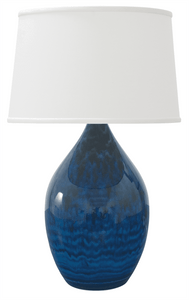 Scatchard Stoneware Table Lamp GS302-MID