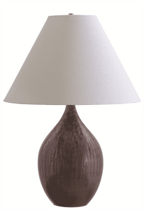 Scatchard Stoneware Table Lamp GS400-DR