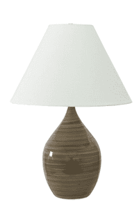 Scatchard Stoneware Table Lamp GS400-TE