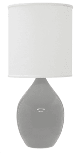 Scatchard Stoneware Table Lamp GS401-GG