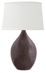 Scatchard Stoneware Table Lamp GS402-DR