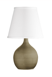 Scatchard Stoneware Table Lamp GS50-CG