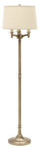 Lancaster Six-Way Floor Lamp L800-AB