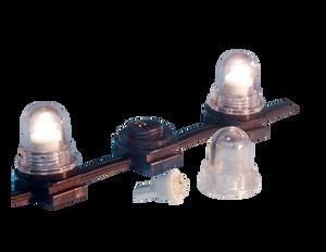 "NSL LED Wedge Light 6"" Spacing 6000k, Pre Mounted MGWL-06-CW"