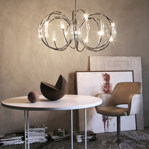 Terzani Hook Suspension Chandelier