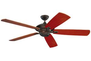 "60"" Cyclone Outdoor Fan - Roman Bronze - 5CY60RB"