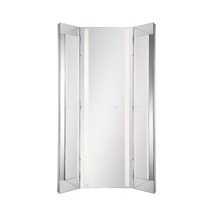 Eurofase Mirror Led Tri-Fold Large Chrome - 34001-011