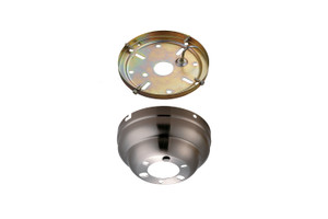 Flush Mount Canopy - Brushed Steel - MC90BS