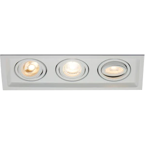 Recessed Multiples GU-10 Trims and Trimless