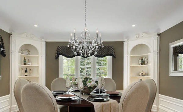 How to Pick the Perfect Dining Room Chandelier
