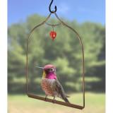 Copper Hummingbird Swing