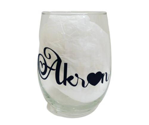 Akron Wine Glass