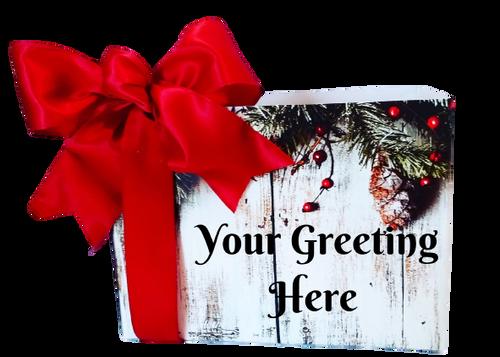 Personal Holiday Gift Box