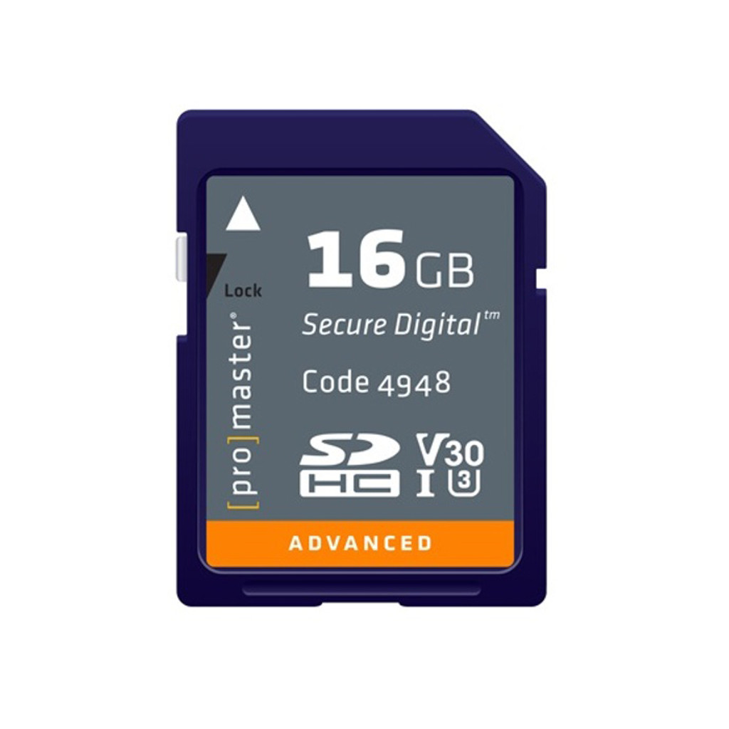 Advanced 16GB SDHC Memory Card