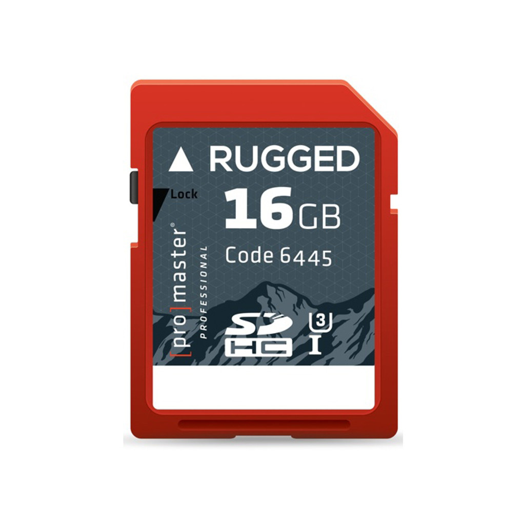 Rugged 16GB SDHC Memory Card