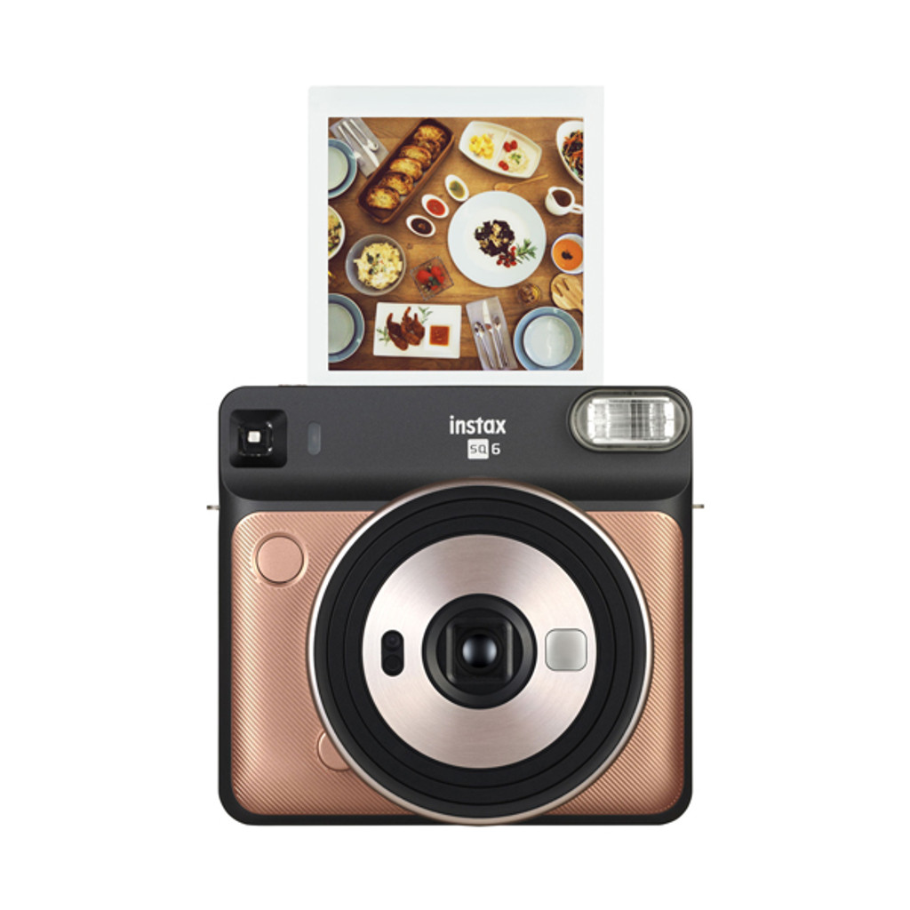 Fuji Instax SQ6 Square Camera - Blush Gold