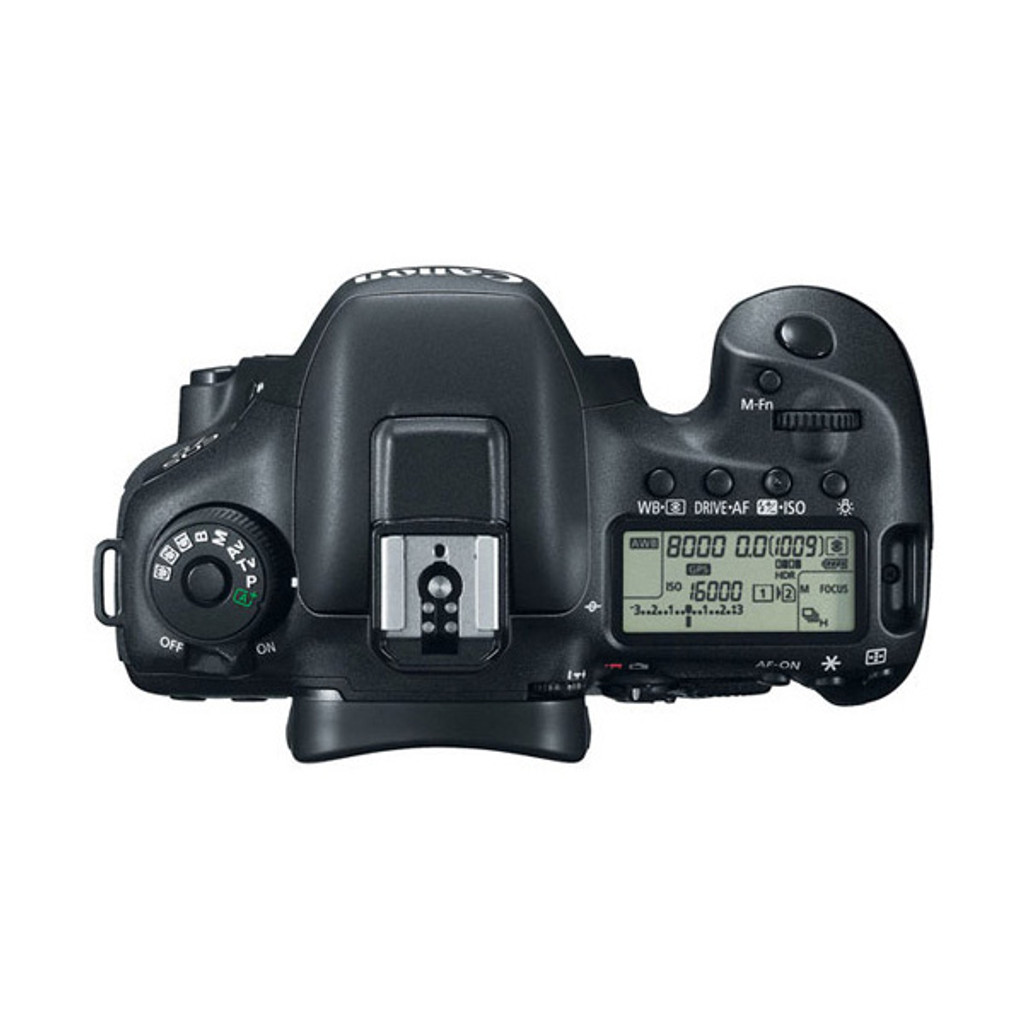 EOS 7D MK II Body w/W-E1 WiFi Adapter - Save $750