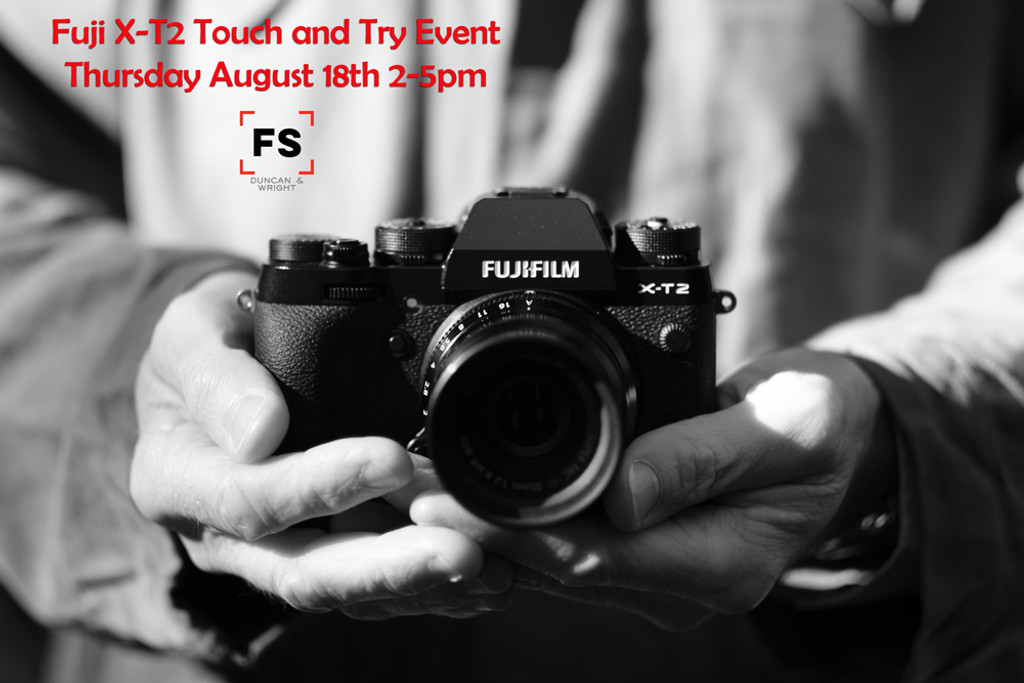 Fuji Touch 'n Try Event
