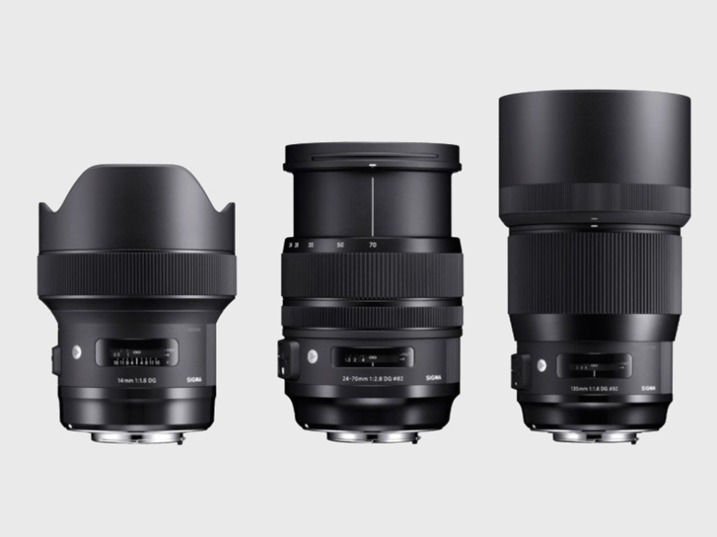 ​Sigma has released a trio of its high-end 'Art' lenses