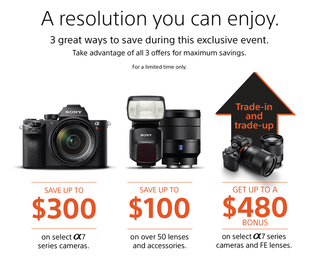 Sony Trade-In and Trade-Up Event