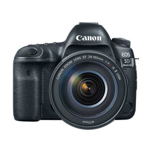 EOS 5D MK IV  w/24-105 IS USM w/Battery Grip + 128GB Memory Card