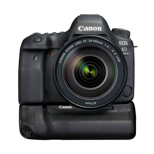 EOS 6D MK II w/24-105mm f/4 IS II USM + Battery Grip