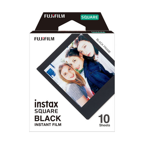 FUJIFILM Instax SQUARE Film - Black