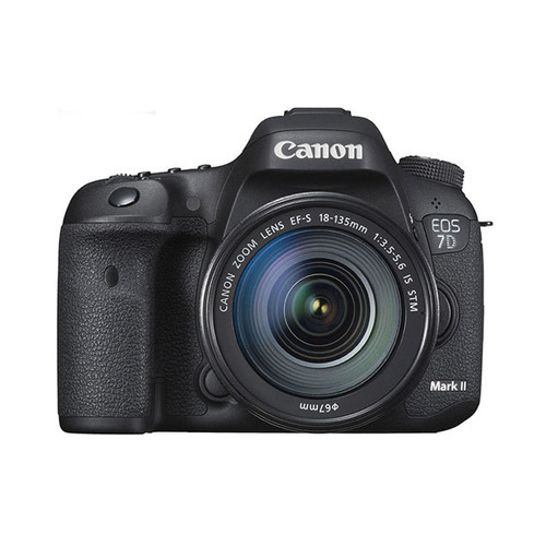 EOS 7D MK II w/18-135 IS STM + W-E1 WiFi Adapter