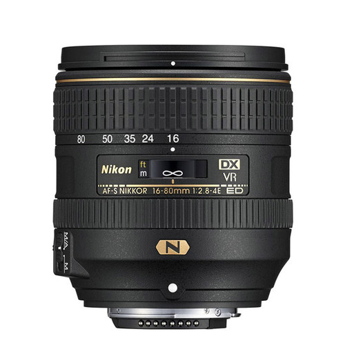 AF-S DX Nikkor 16-80mm f/2.8-4E ED VR - Save $50