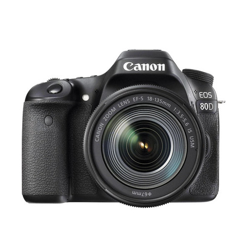 EOS 80D w/18-135 IS STM - Save $800