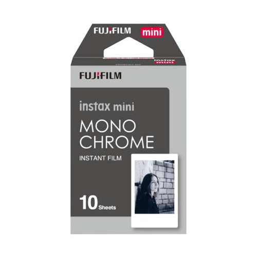FUJIFILM Instax Mini Film - Mono Chrome