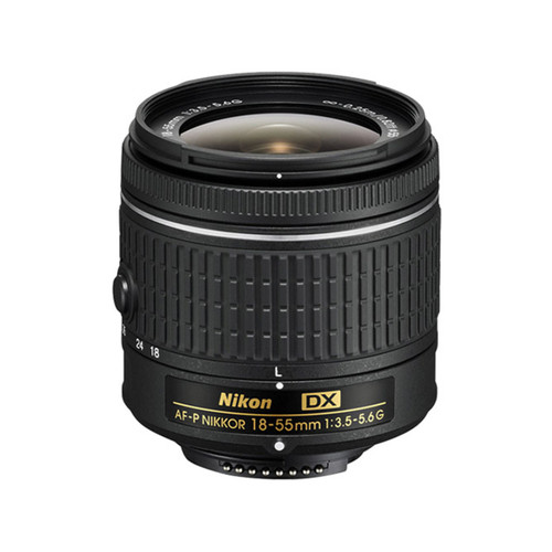 AF-P DX Nikkor 18-55mm f/3.5-5.6G VR - Save $30