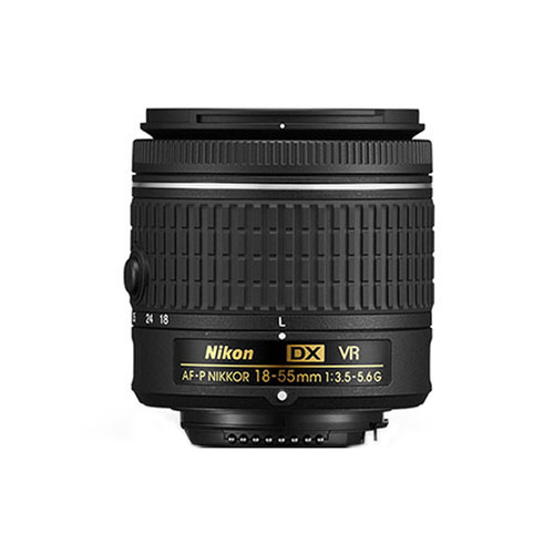 AF-P DX Nikkor 18-55mm f/3.5-5.6G VR - Save $20.00
