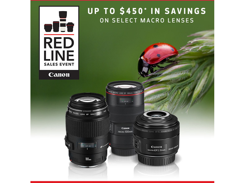 Canon Red Line Macro Lens Event