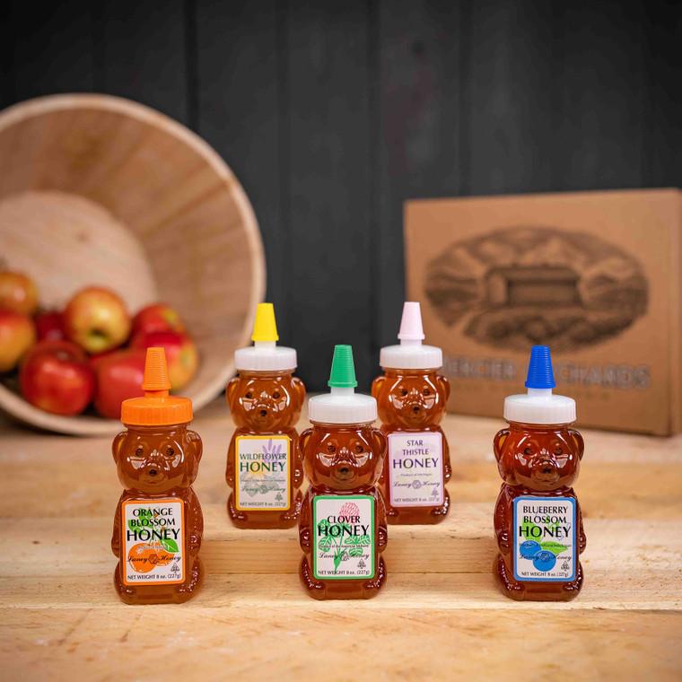 """The """"Beary"""" Best Honey Sampler"""