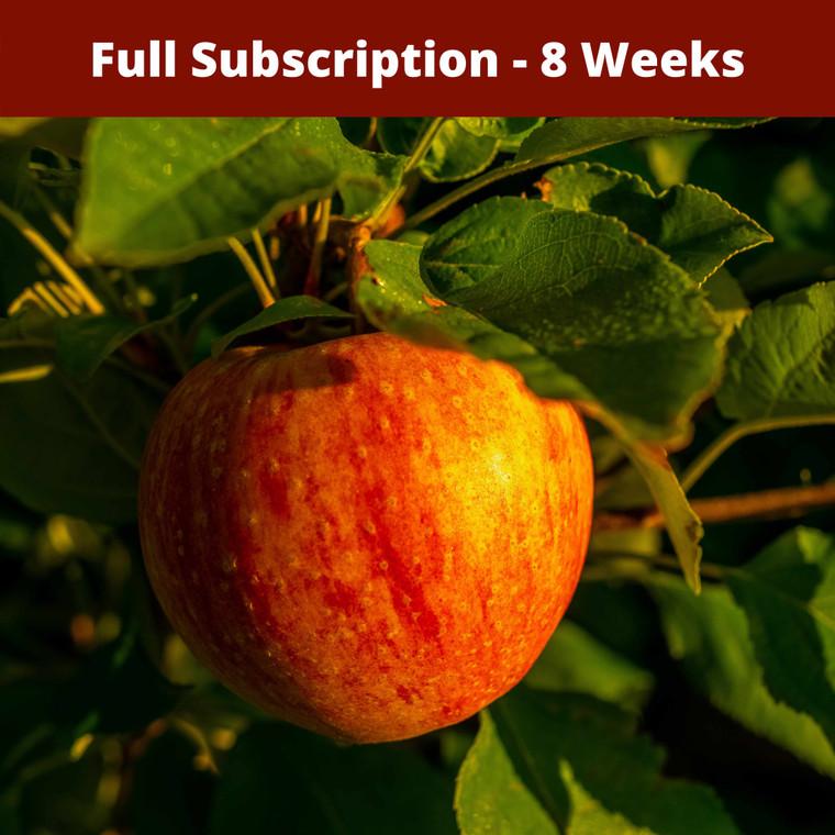 Full Season Apple Subscription - Fall (Sep-Oct) 2020