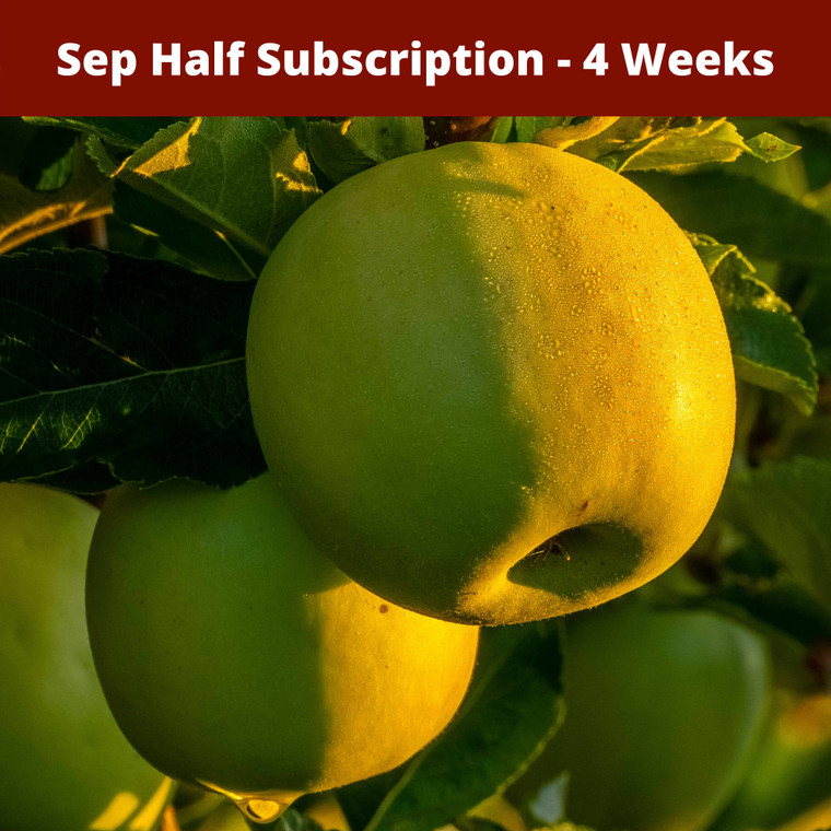 SOLD OUT: Sep Half Season Apple Subscription - Sep 2020