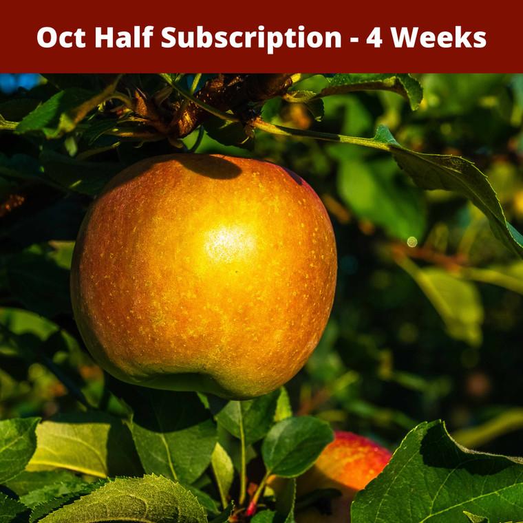 Oct Half Season Apple Subscription - Oct 2020